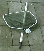 Dip net with detachable handle