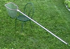 Long handle dip net